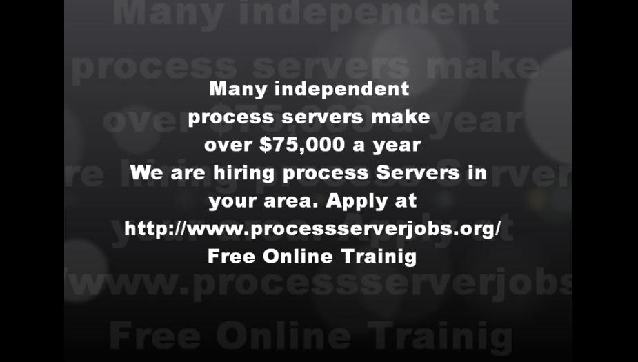 independent process server jobs